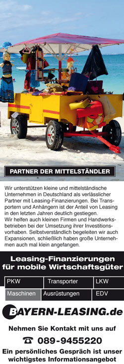 Transporter Leasing Anfrage
