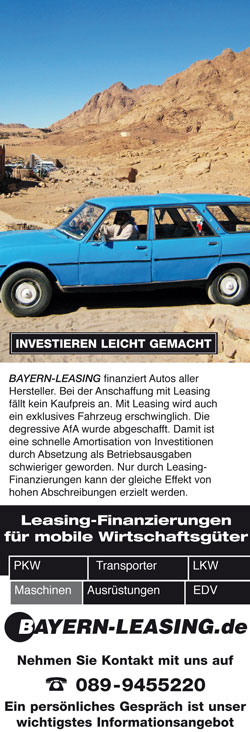 PKW-Leasing Anfrage